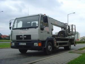 wynajem - dźwigi samojezdne w Warszawie